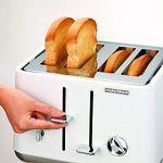 MORPHY RICHARDS 240003 Aspect Toaster in Weiß (1800 Watt, Schlitze: 4) für 44€ oder in schwarz für 39€ (statt 66€)