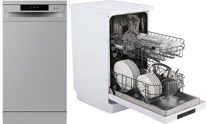 Gorenje GS 52010   freistehender Geschirrspüler (45cm) für 278,10€ (statt 308€)