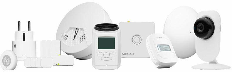 MEDION P85755 MD 90755 Smart Home Starter Set für 105,94€ (statt 207€)