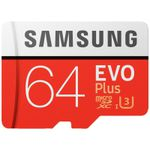 Samsung EVO Plus – UHS-3 64GB Micro SDXC für 11€ (statt 15€)