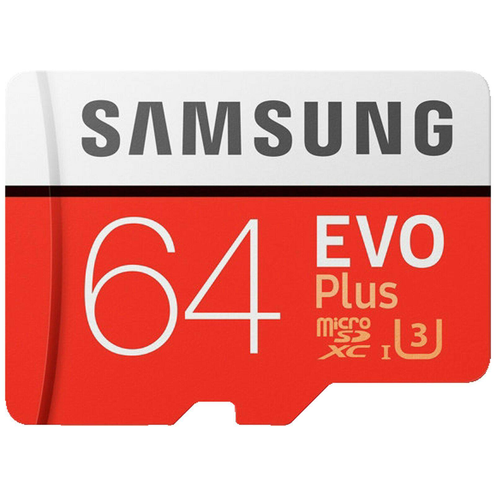 Samsung EVO Plus – UHS-3 64GB Micro SDXC für 10,98€ (statt 17€)