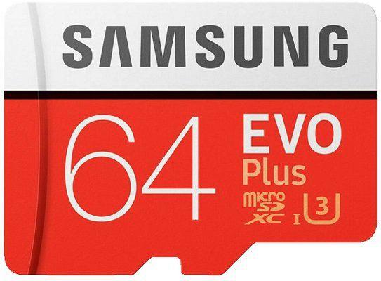 Samsung EVO Plus   UHS 3 64GB Micro SDXC für 10,98€ (statt 17€)