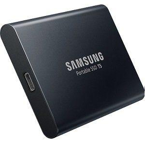 SAMSUNG Portable SSD T5 mit 1 TB für 219€ + 30€ Cashback