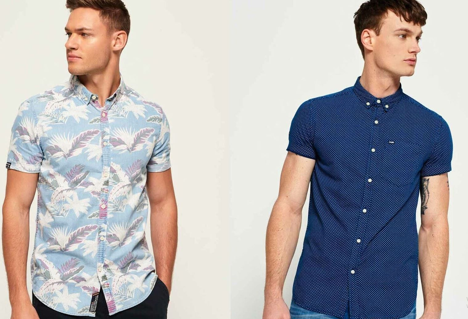 Superdry Herren Hemden   neue Modelle für je 27€ (statt 36€)