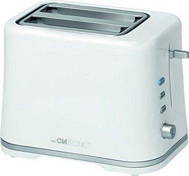 CLATRONIC TA 3554 Toaster (870 Watt) für 15,99€ (statt 22€)