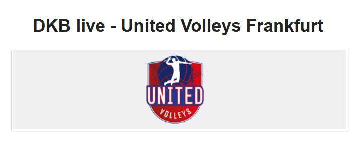 Für DKB Aktivkunden: Gratis United Volleys Frankfurt vs.VfB Friedrichshafen
