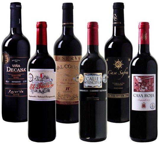 Probierpaket der aktuellen Rotwein Bestseller für 35,94€