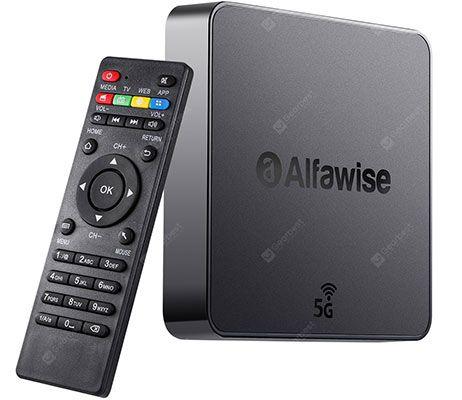 Alfawise A8 Pro 4K TV BOX – mit 2GB RAM, 16GB ROM & Android 8.1 für 25,38€