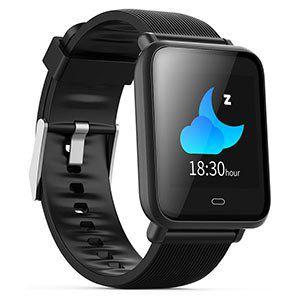 Q9 Fitnesstracker & Smartwatch mit Herfrequenzmesser für 19,75€ (aus DE)