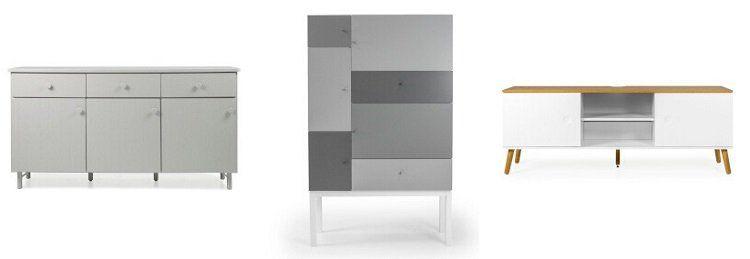 Tenzo bei Vente Privee mit bis zu 75% Ersparnis auf Möbel   z.B. Sideboard Grain für 395,50€ (statt 559€)
