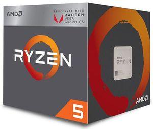 Vorbei! AMD Ryzen 5 2400G (4x 3.60GHz) Boxed CPU mit Lüfter für 118,89€ (statt 133€)