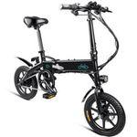 FIIDO D1 – E-Bike Klapprad mit 10,4Ah Batterie in Schwarz für 407,50€ – inkl. Express-Versand