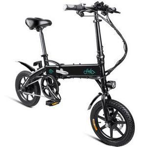 FIIDO D1   E Bike Klapprad mit 10,4Ah Batterie in Schwarz für 407,50€   inkl. Express Versand