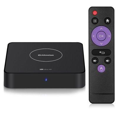 Alfawise A8X   Android 9 TV Box mit 5G Support für 31,44€