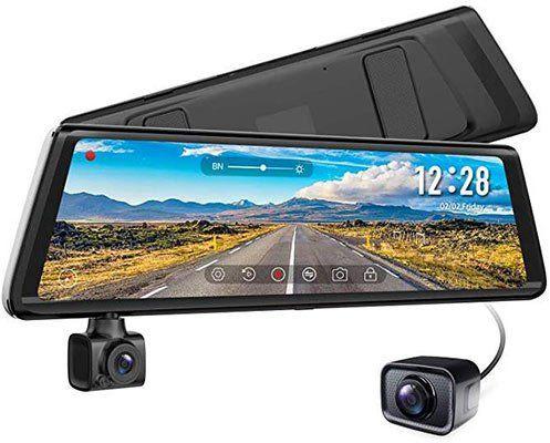 AUTO VOX A1   1080p Dashcam im Innenspiegel inkl. Innenraumkamera für 109,79€ (statt 183€)