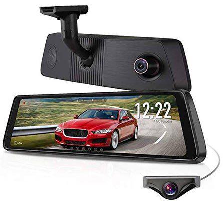 AUTO VOX X1PRO   1296p Daschcam im Innenspiegel inkl. Rückkamera, GPS & vielen Extras für 189,69€ (statt 271€)