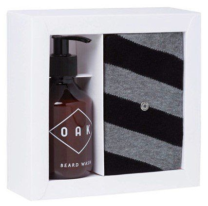 Burlington Set Oak Beard Wash 200ml & Herrensocken für 14,90€ (statt 21€)