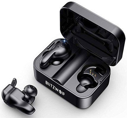BlitzWolf BW FYE1 True Wireless In Ear Kopfhörer mit BT 5.0 & Ladebox für 28,19€ (statt 47€)