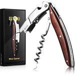 Kellnermesser (Folienschneider Wein- & Flaschenöffner) aus Rosenholz für 7,99€ (statt 16€) – Prime