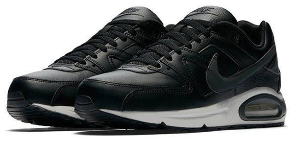 Nike Air Max Command Leder Sneaker in Schwarz/Grau für 84,90€ (statt 124€)