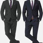 Bruno Banani 4tlg Anzug mit Krawatte & Einstecktuch ab 114,74€ (statt 156€)