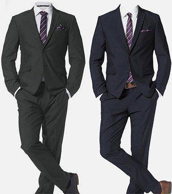 Bruno Banani 4 tlg. Anzug mit Krawatte & Einstecktuch ab 134,99€ (statt 156€)