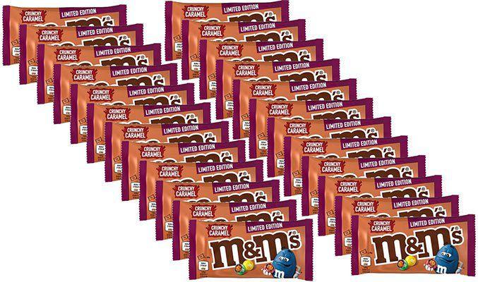 24x Crunchy Karamell M&Ms (45g) für 15,90€ (statt ~26€)