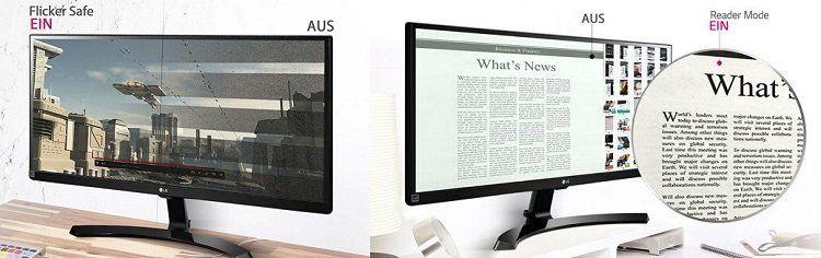 LG 29UM59 P   29 Monitor (Wide Screen, 2 x HDMI, AMD FreeSync) für 157,19€ (statt 185€)