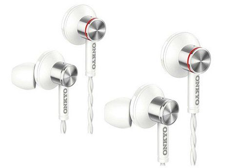 2x Onkyo Hi Res In Ear Kopfhörer (E600MW/00) mit Mikrofon für 35,90€ (statt 200€)