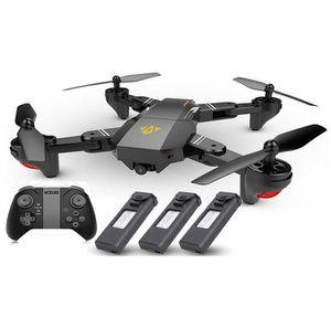 VISUO XS809HW 720P FPV Drohne mit 120° Blickwinkel + Controller & 3 Akkus für 49,24€   aus DE