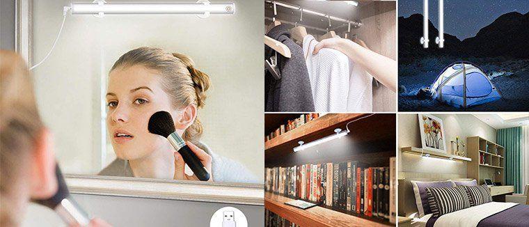LED Spiegel  bzw. Schranklicht mit 3 Stufen für 6,99€   Prime