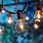 Lichterkette (auch für Außen) mit 25 Glühbirnen für 16,88€ (statt 24€)