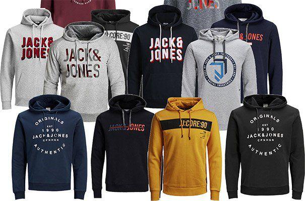 3er Pack: Jack & Jones Hoodies in vielen Varianten für je 48,96€   nur 16,32€ pro Hoodie