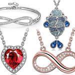 16€ Rabatt auf verschiedene Damenschmuckstücke von Susan Y z.B. Damenkette für 9,99€ – Prime