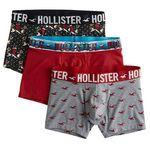 3er Pack Hollister Boxershorts in versch. Ausführungen & Designs ab 21,17€ (statt 34€)