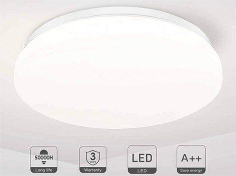 TECKIN CL01   runde LED Deckenleuchte mit 18W für 13,79€ (statt 23€)