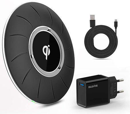 Blavor 10W Qi Ladestation inkl. Ladegerät und 1,2m USB Kabel für 9,89€   Primer