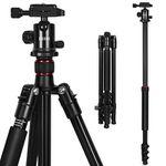 ESDDI TP-40 Kamerastativ (bis zu 160cm) mit 360° Kugelkopf für 39,59€ (statt 55€)