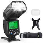 RALENO F550 Blitz für Canon & Nikon DSLR Kameras (E-TTL & i-TTL Dual Mode 1/8000) für 39,99€ (statt 60€)