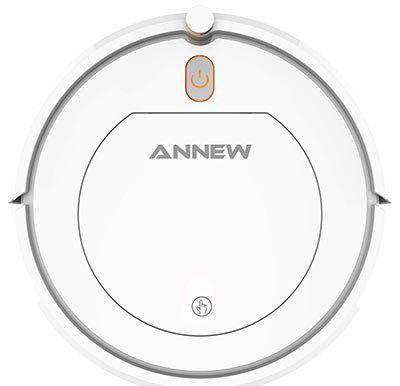 ANNEW A1 Staubsaugerroboter mit HEPA Filter, 3 Reinigungsmodi & Fernbedienung für 69,99€ (statt 110€)