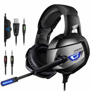 ONIKUMA Gaming Headset 7.1 mit Noise Cancelling für 14,99€ (statt 25€)
