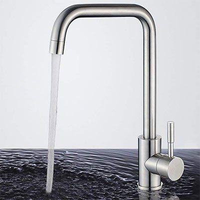 Drehbarer Wasserhahn Homelody 360 aus Edelstahl für 23,99€ (statt 40€)