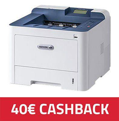 Xerox Phaser 3330DNI s/w Laserdrucker 159,90€ (statt 199€) + 40€ Cashback
