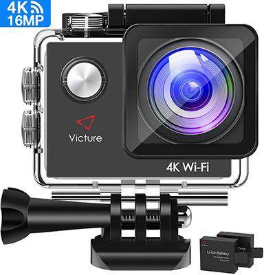 Victure AC600 4K Actioncam mit 16MP für 39,99€ (statt 50€)