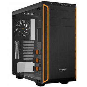 be quiet! Pure Base 600 Midi Tower (gedämmt, mit Sichtfenster) in Schwarz/Orange für 59€ (statt 78€)