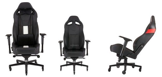 Corsair T2 ROAD WARRIOR Gaming Chair für 265,89€ (statt 312€)