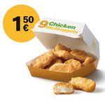 McDonald´s Ostercountdown 2019 mit täglich wechselnden Deals – heute: 9er 🐓 Nuggets für 1,50€