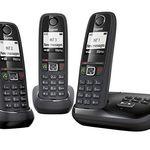 GIGASET AS405 A TRIO – 3 Schnurlose Telefone mit AB für 42,75€ (statt 65€)