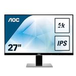 🔥AOC U2777PQU 27″ 4K-Monitor mit IPS und Auflösung 3840×2160 in Silber für 202,12€ (statt 349€)