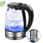 Yoleo Glas Wasserkocher mit Temperatureinstellung für 34,99€ (statt 44€)